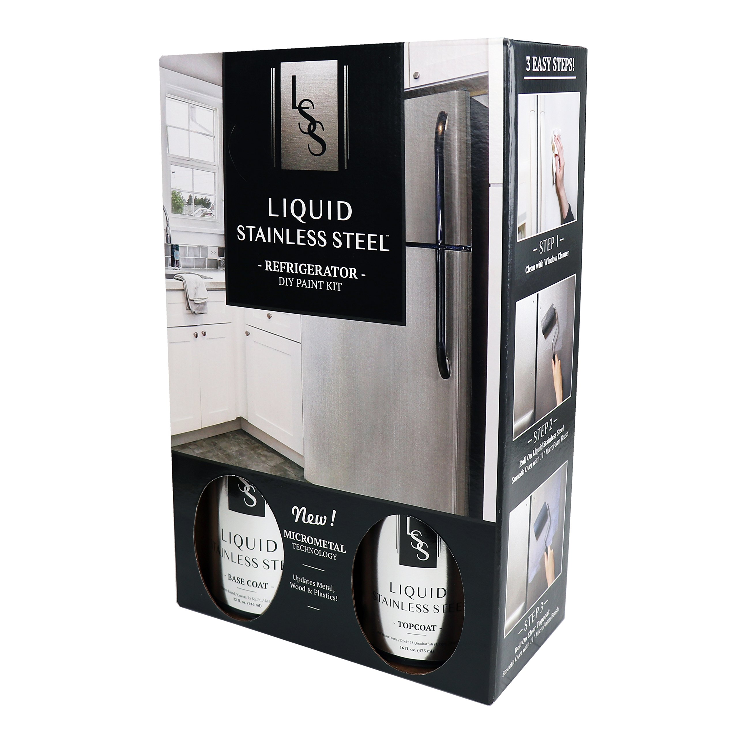 Liquid Stainless Steel Fridge Kit
