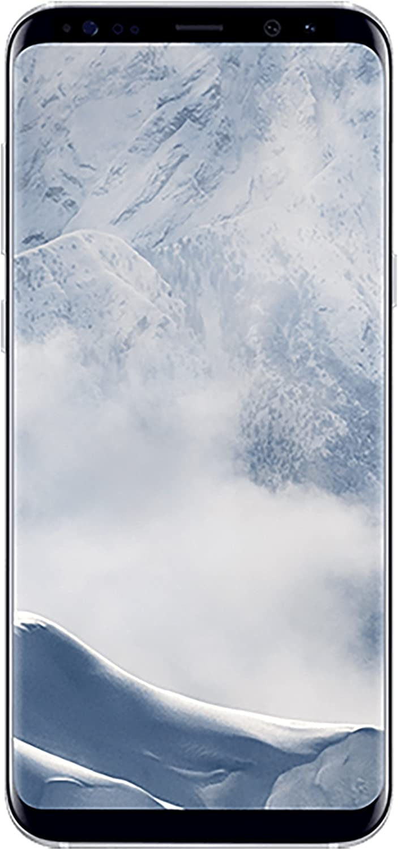 Samsung Galaxy S8+ G955U 64GB Unlocked GSM U.S. Version Smartphone w/ 12MP Camera - Arctic Silver (Renewed)