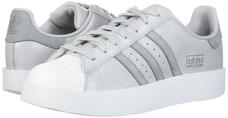 adidas Originals Women's Superstar Bold W Sneaker B01NBKNXHS 6 B(M) US|Light Solid Grey/Mid Grey/White