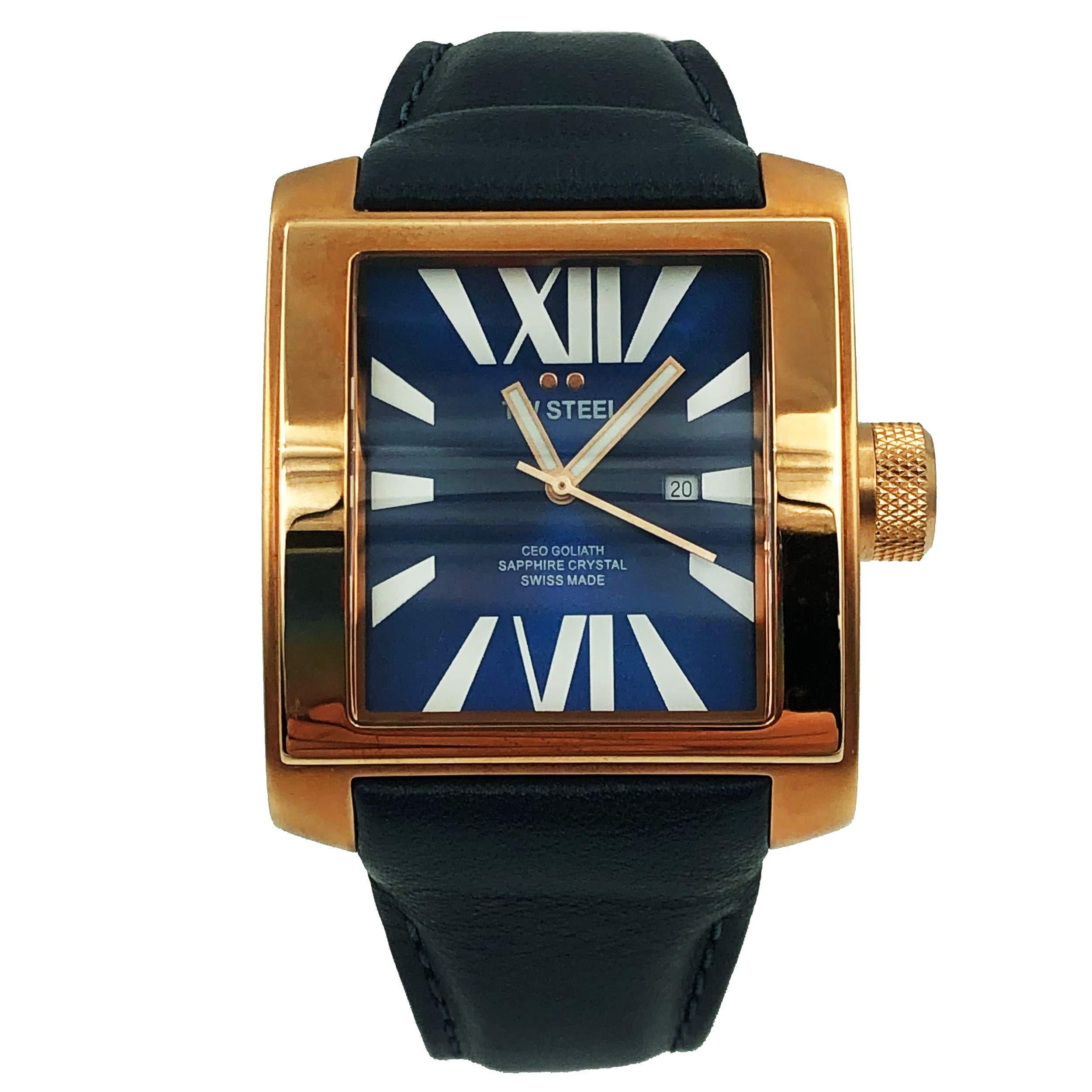 TW Steel CEO Quartz Male Watch CE3017 (Certified Pre-Owned)