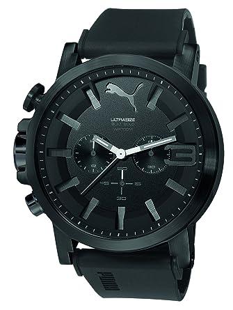 Puma herren armbanduhr schwarz