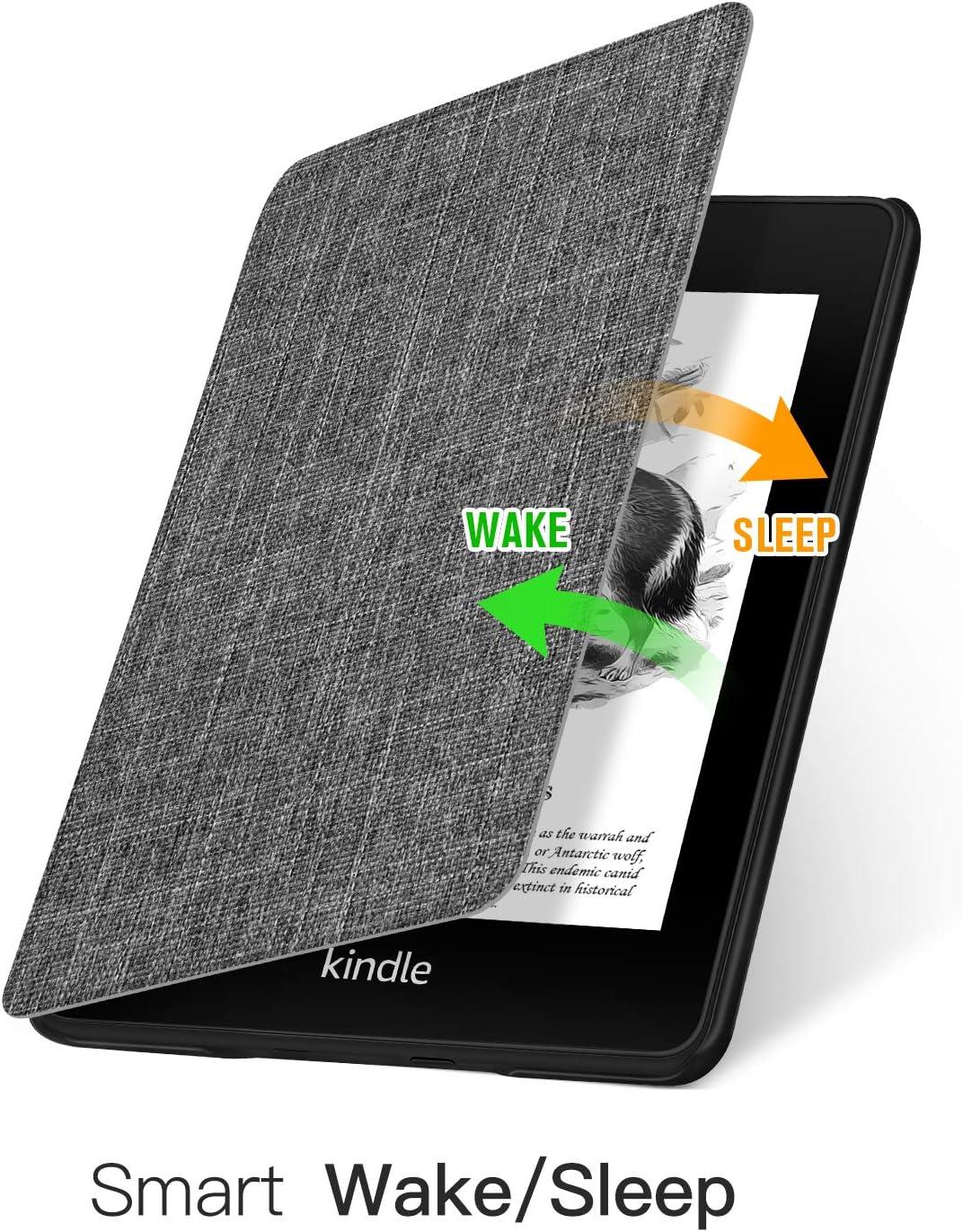 Le Livre de la Nature L/éger et Mince Ayotu Etui en 2019 pour Kindle Compatible avec Le Nouveau Kindle d 10e g/én/ération - 2019 /Étui de Protection Contre Le r/éveil//Veille Automatique