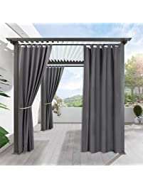 Outdoor Curtain Privacy For Patio   RYB HOME Stain Repeleant Home Décor For  Lawn U0026 Garden
