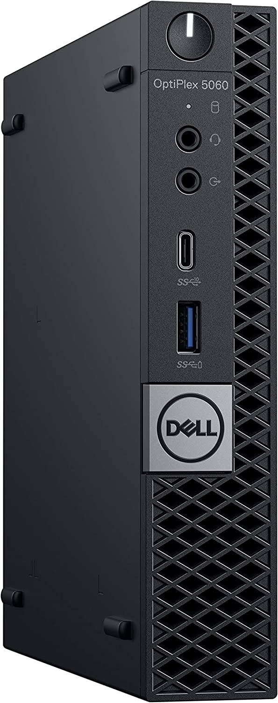 Dell OptiPlex 5060 Micro Desktop Computer with Intel Core i5-8500T 2.1 GHz Hexa-Core, 8GB RAM, 256GB SSD (5H0P7) (Renewed)