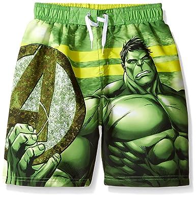 f2df2cb28f Amazon.com: Marvel Boys' Hulk Swim Shorts: Clothing