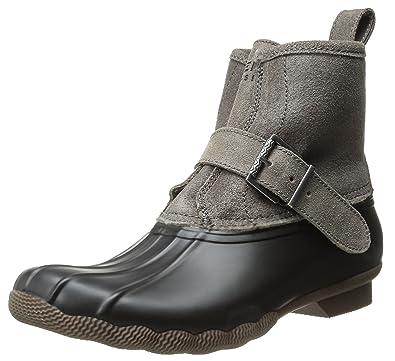 03fb0f087d14 Sperry Women s Ripwater Black Graphite Rain Boot 5 ...