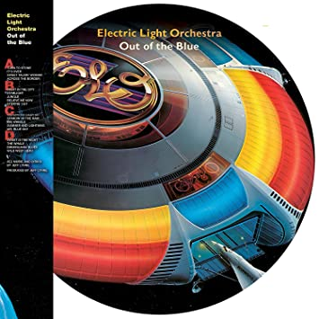 Electric Light Orchestra Music Rock Band Vinyl Sticker Decal Car Window Wall 9/""