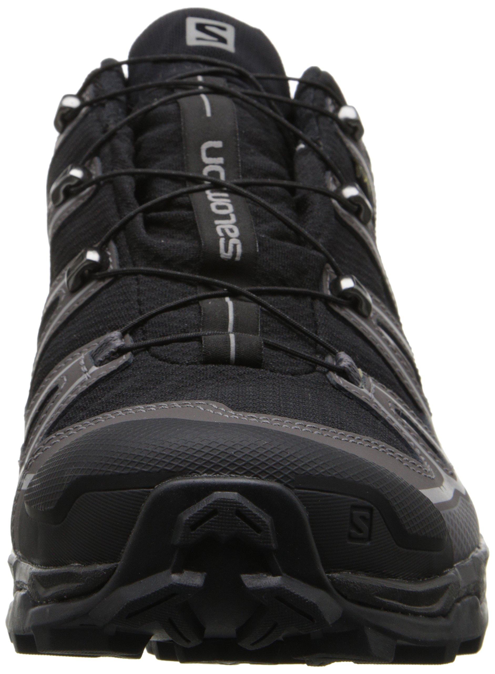 Salomon Men's X Ultra 2 GTX Hiking Shoe, Black/Autobahn/Aluminum, 7 M US by Salomon (Image #4)