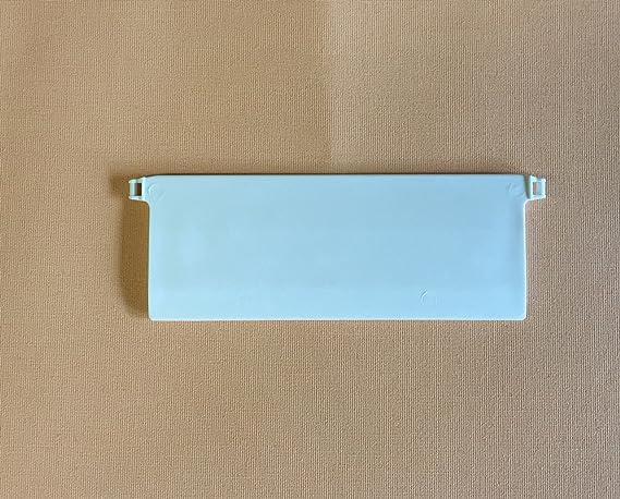 cg-sonnenschutz 20 Stück Beschwerungsplatten Breite 127 mm Gewichte für Vertikaljalousie Lamellen Vorhang Vorhang-Lamellen 12