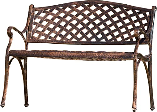 Best Selling Cozumel Cast Aluminum Bench