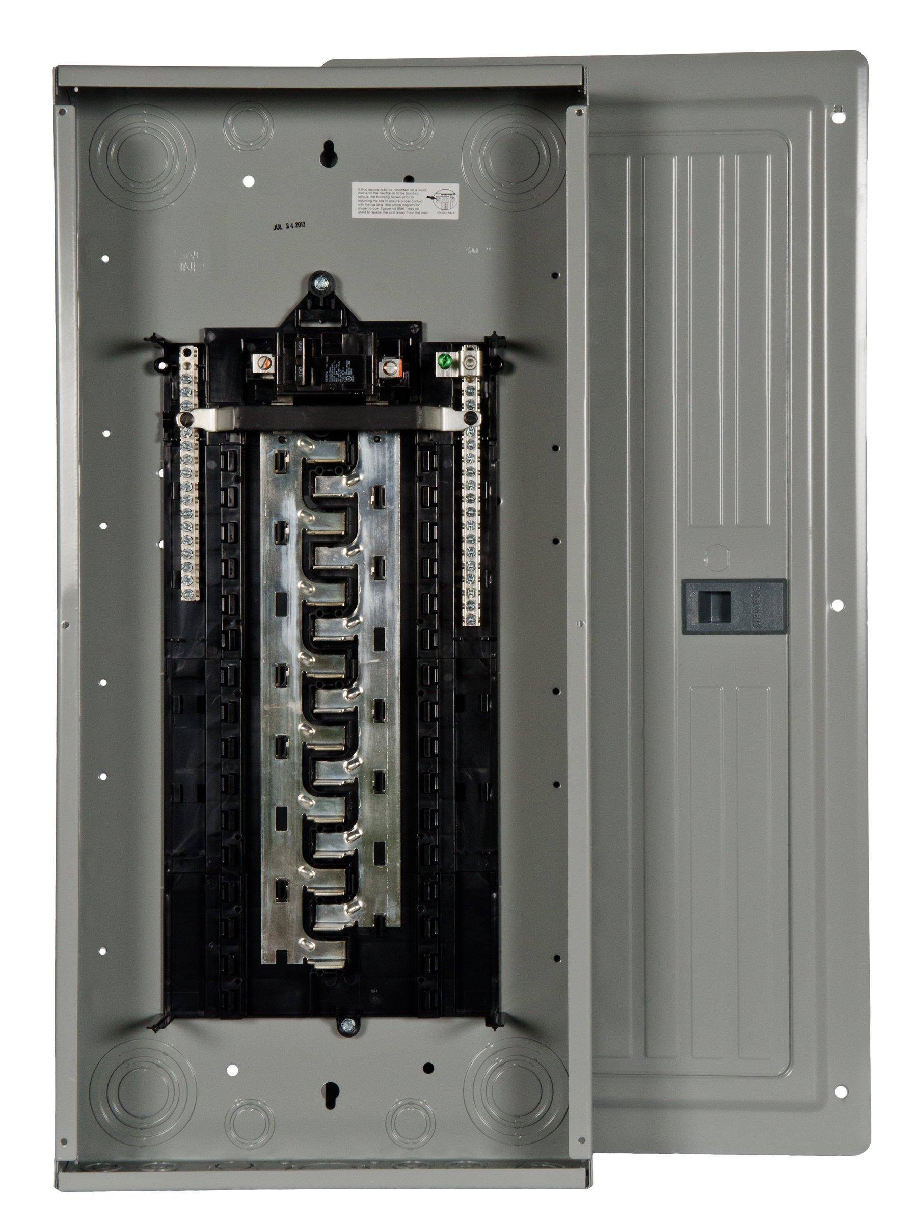 Siemens 30 Space, 30, Circuit, 100 Amp, Main Breaker, Indoor Load Center