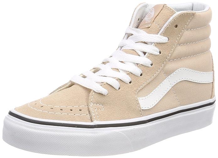 Vans Sk8-hi Schuhe Unisex-Erwachsene Leder u. Textil beige (Frappe)