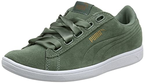 45dafa37c62681 Puma Women s Vikky Ribbon Sd P Low-Top Sneakers  Amazon.co.uk  Shoes ...