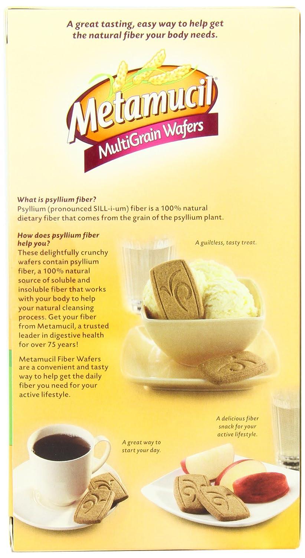 Ingredients in meta health bars - Amazon Com Metamucil Meta Multi Grain Fiber Wafers By Meta Apple Crisp 24 Count Pack Of 3 Laxatives Grocery Gourmet Food