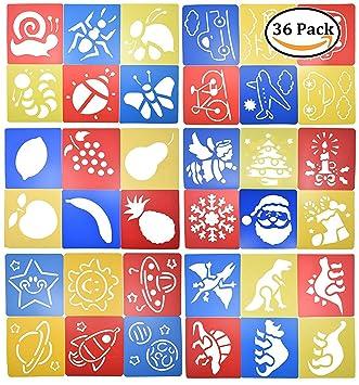 sundarling plástico Bullet diario plantilla para Set de 36 ...