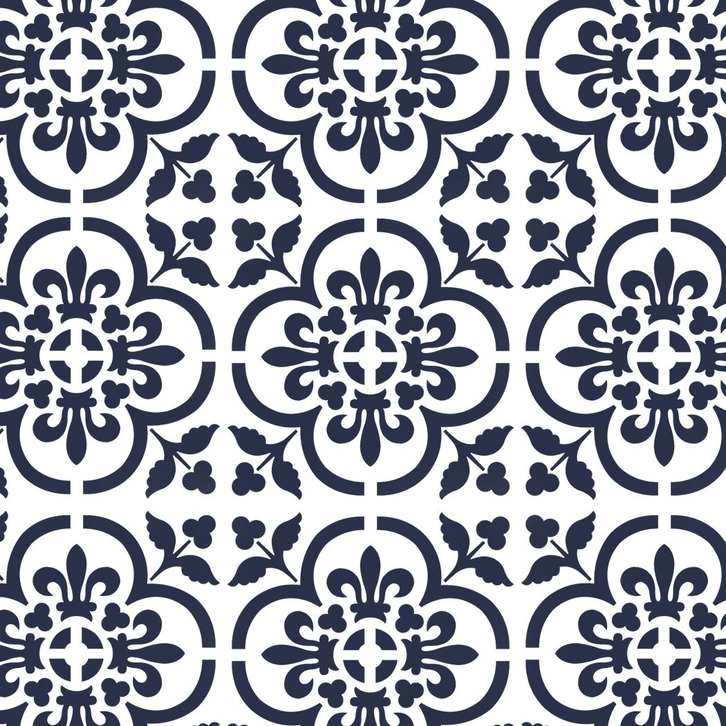 Amazon j boutique stencils large wall stencils damask stencil amazon j boutique stencils large wall stencils damask stencil diy reusable pattern decor faux mural v0013 x large arts crafts sewing amipublicfo Choice Image