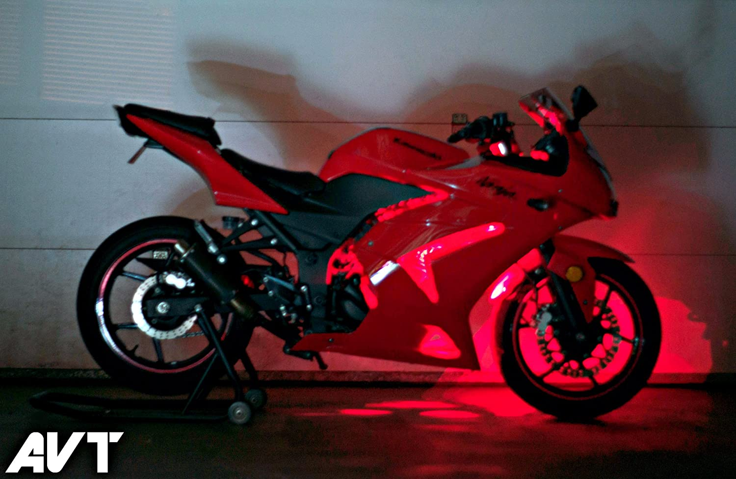 Avt Ninja 250 Body Glow Led Light Kit 2008 2012