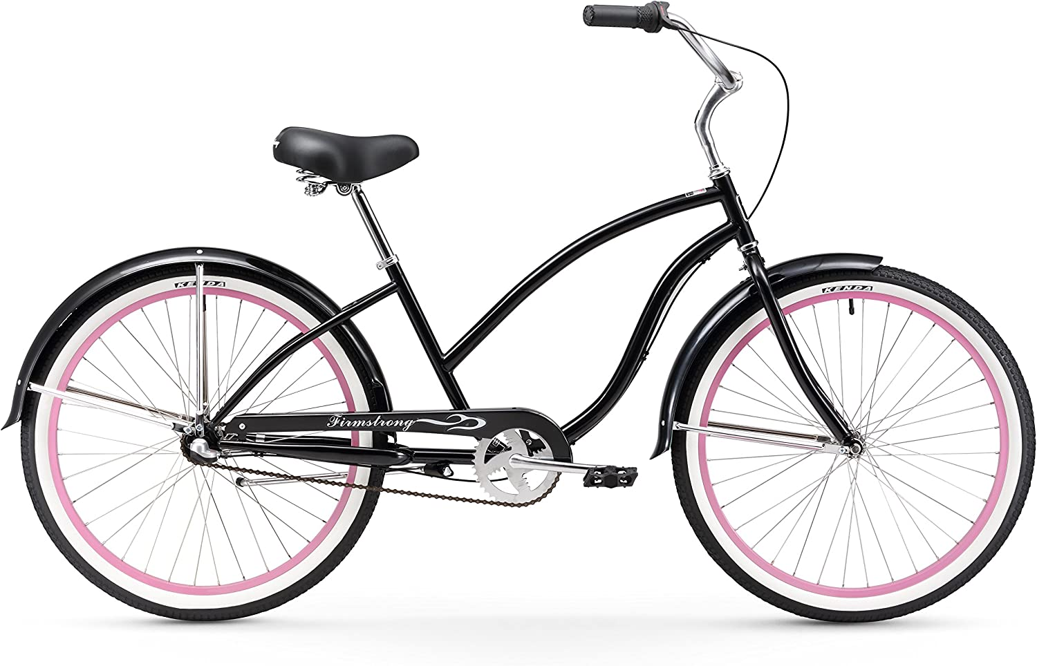 B0070S6NHY Firmstrong Chief Lady Beach Cruiser Bicycle, 26-Inch 81TQSARyULL