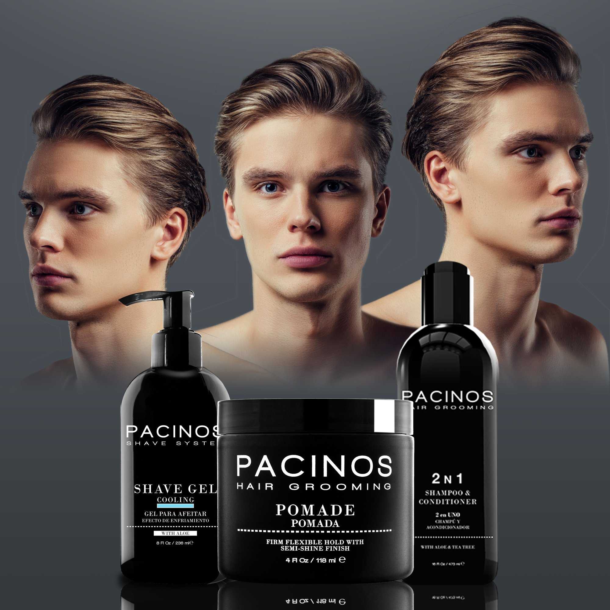 Pacinos Shave Gel, 8 Ounce