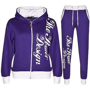 Kids Tracksuit Boys Girls Designer s The Power Design Top   Bottom Jogging  Suit fcce5de69fe5