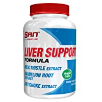 SAN Nutrition Liver Support Formula with Milk Thistle, Dandelion Rood, and Artichoke...