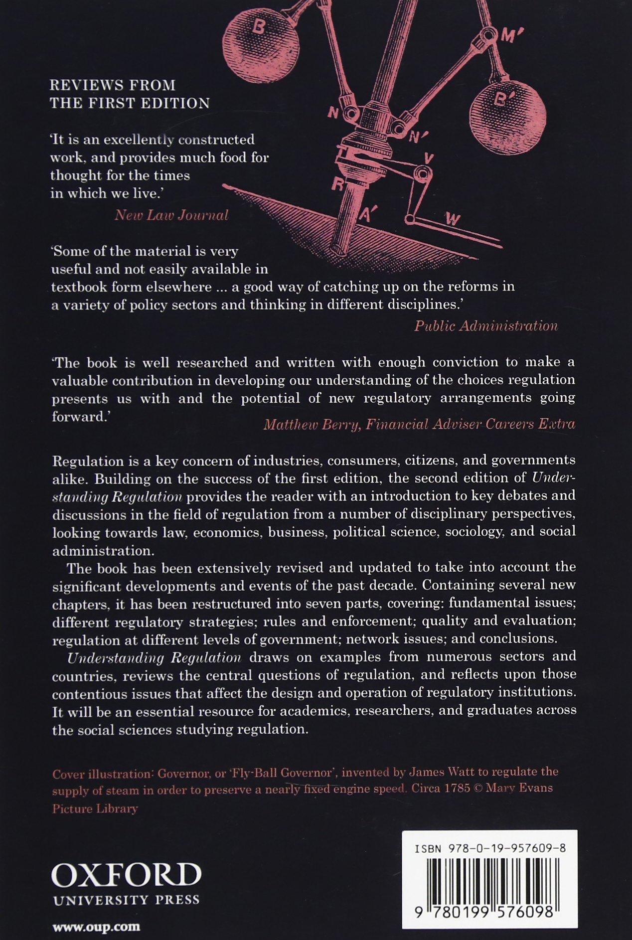 Understanding Regulation: Theory, Strategy, and Practice: Amazon.de: Robert  Baldwin, Martin Cave, Martin Lodge: Fremdsprachige Bücher