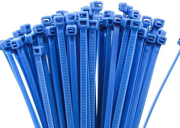 "24"" Black Nylon Cable Tie Zip Heavy Duty Plastic Wire Pack of 25pcs"
