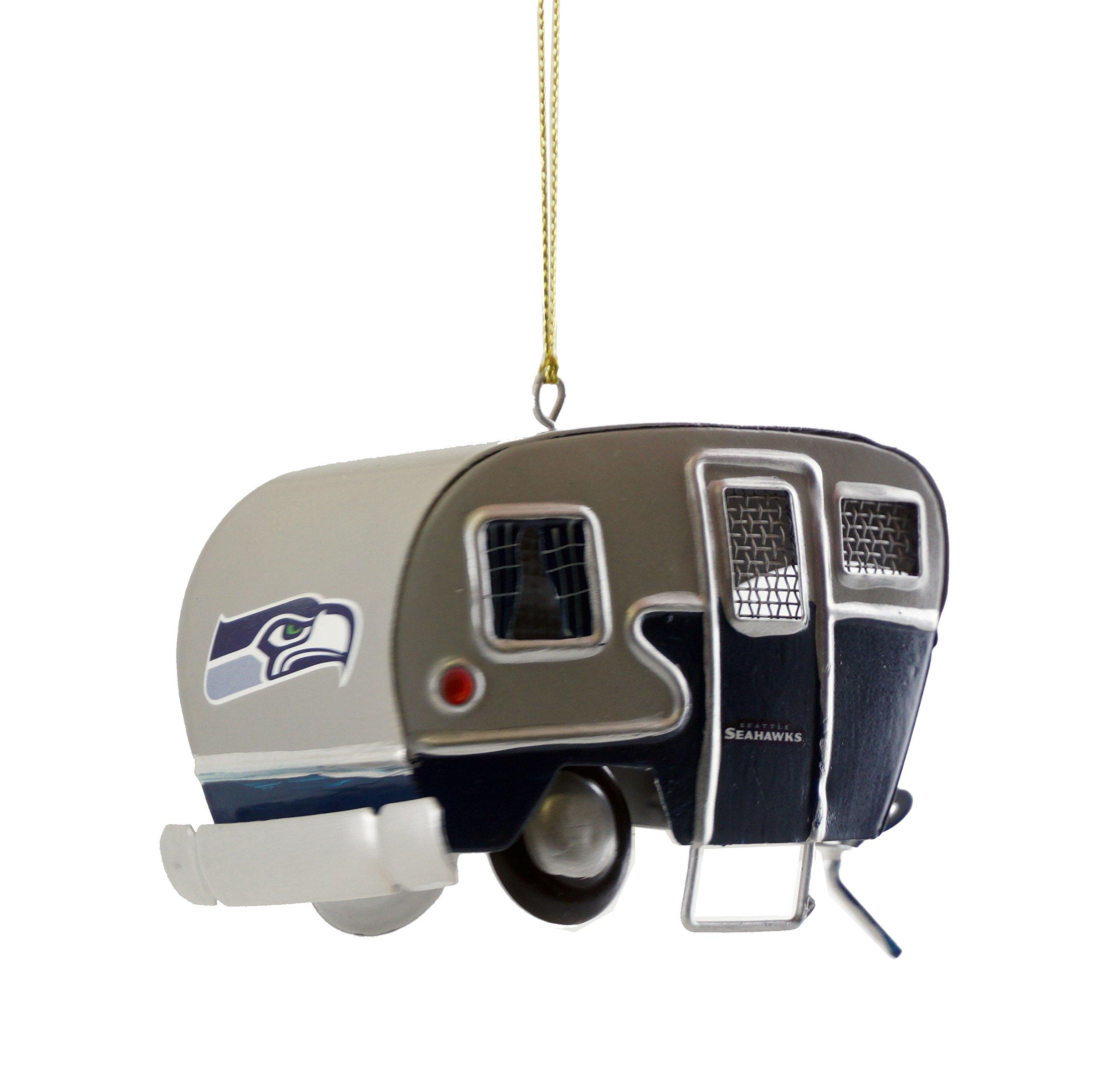 JWM Seahawks Camper Ornament