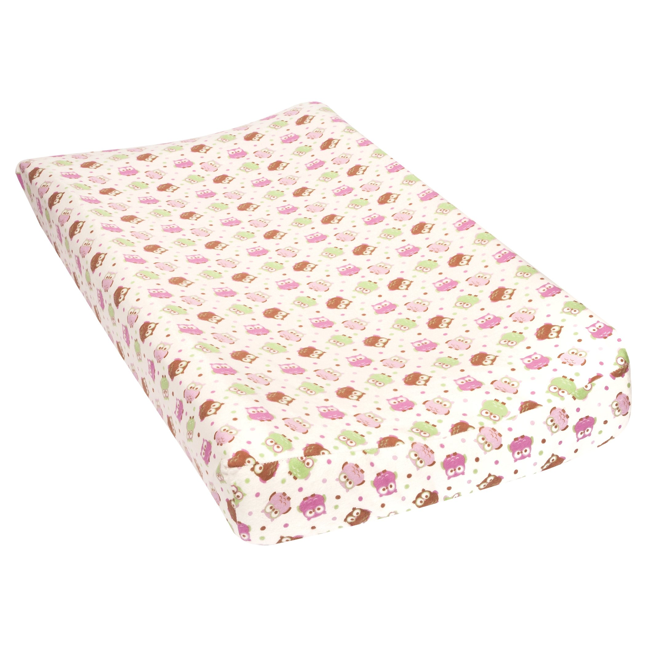 Trend Lab Owls Deluxe Flannel Changing Pad Cover