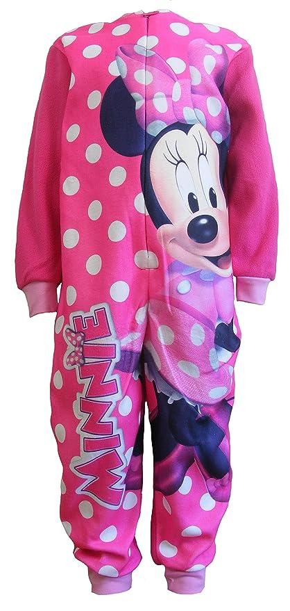 a basso prezzo a97dd f37af Disney Minnie Mouse - Pigiama Intero Manica Lunga in Pile ...