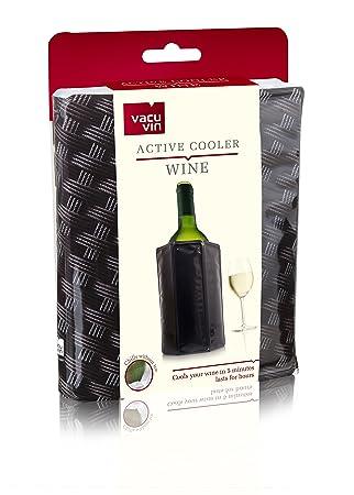 Compra Vacu Vin Enfriador Activo de Vino, Mimbre, 14.5x2.6x17.3 cm en Amazon.es