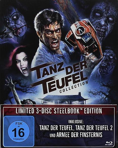 Tanz der Teufel Collection - (Tanz der Teufel/Tanz der Teufel 2/Armee der Finsternis)