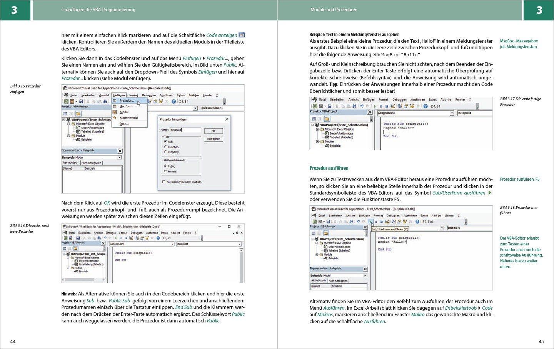 VBA mit Excel - Der leichte Einstieg: Vom ersten Makro zur eigenen ...