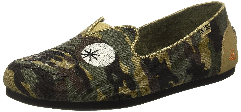 Skechers BOBS from Women's Bobs Plush-Prowl Flat B06XVZMXGN 9 B(M) US Camouflage
