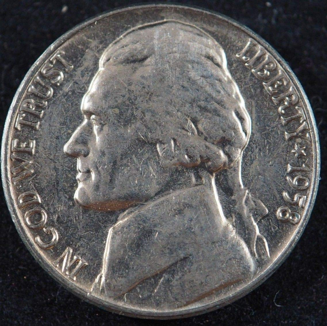 1951-P Jefferson Nickel BU Uncirculated FAST FREE SHIPPING