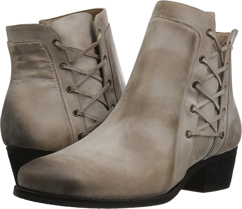 Walking Cradles Frauen Galveston Geschlossener Zeh Leder Fashion Stiefel