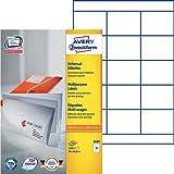 Avery Zweckform 3669 Universal-Etiketten (A4, Papier matt, 1,500 Etiketten, 70 x 50,8 mm) 100 Blatt weiß