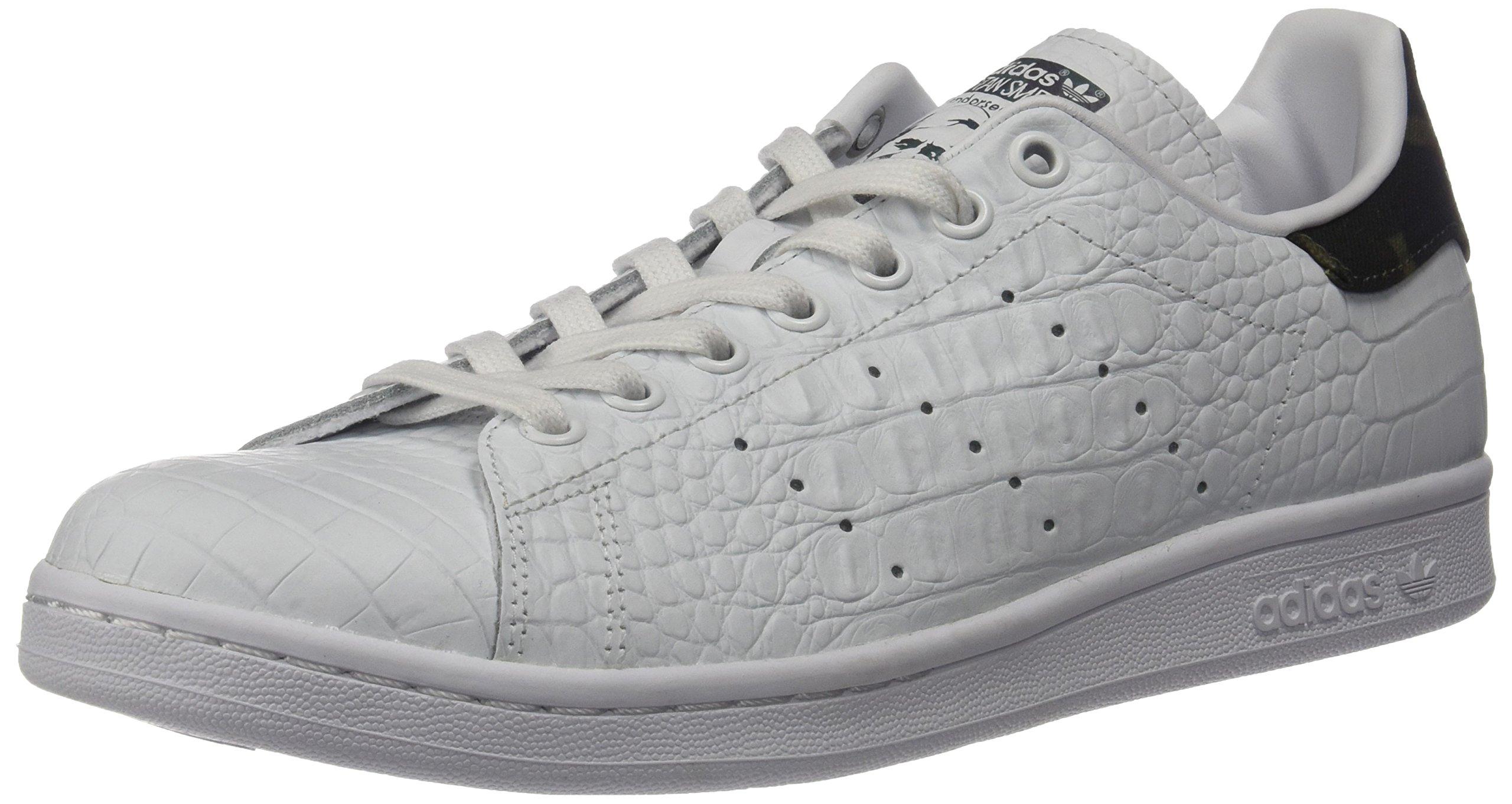 Galeone adidas originali uomini stan smith della scarpa, bianco
