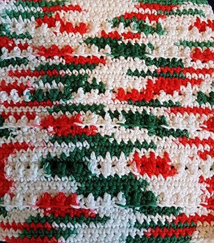 Amazon.com: Jumbo Skeins Bernat Christmas Holiday Handicrafter Yarn Bundle 100% Cotton Mistletoe Ombre Yuletide Holly Jolly Prints Skeins 12 oz #4 Medium ...