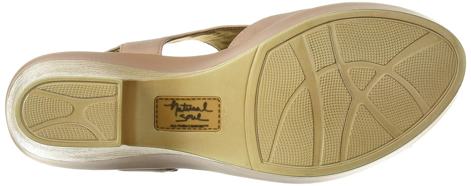 Natural Soul Women's Mia Heeled Sandal F4845S0 - 3