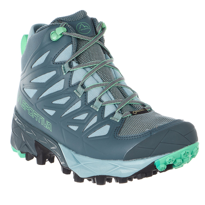 La Sportiva Women's Blade GTX Hiking Boots B071WPDXGP 40.5 M EU|Slate/Jade Green
