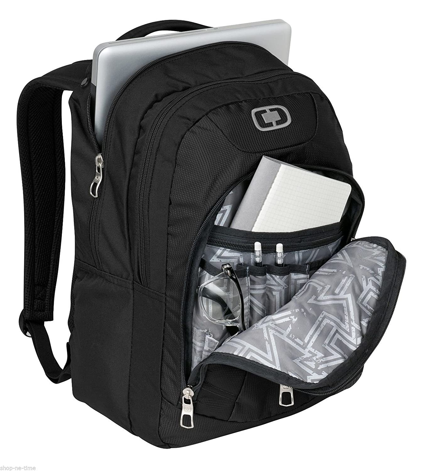 Amazon.com: OGIO 411063 - Black/Silver Computer Laptop Colton Backpack, Black/Silver: Sports & Outdoors