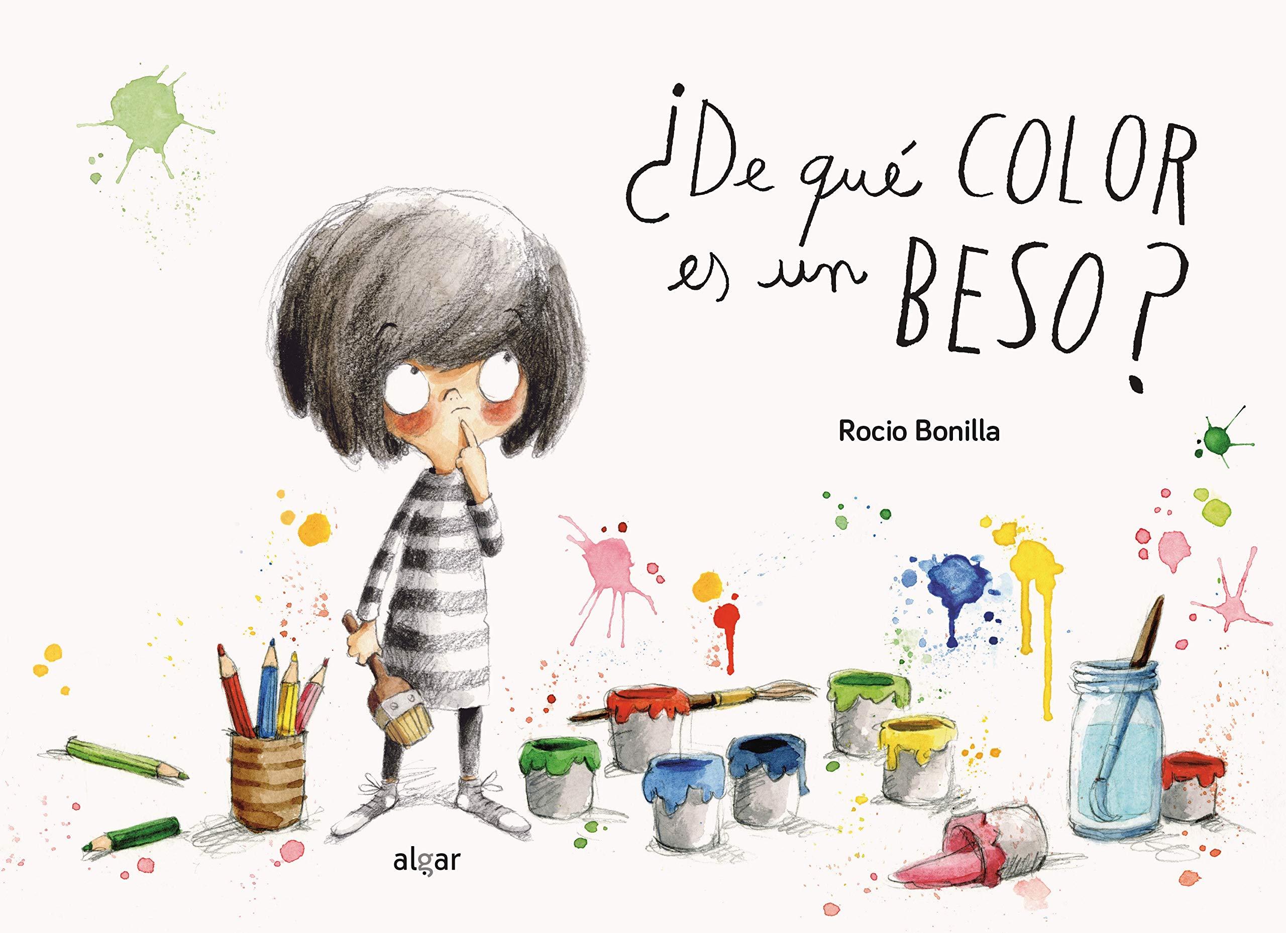 De qué color es un beso? (Álbumes ilustrados): Amazon.es: Bonilla ...