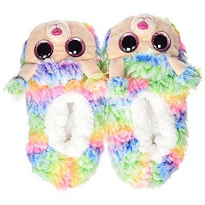 Ty Rainbow - Slipper Socks lrg: Toys & Games