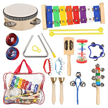 kids musical instruments with xylophone tambourine for kids toddler