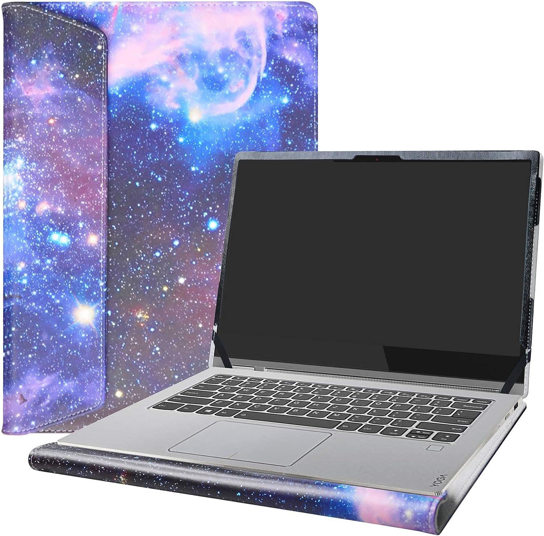 "Alapmk Protective Case Cover for 14"" Lenovo Yoga C930 C930-13IKB & Lenovo ideapad S540 14 S540-14IWL S540-14API Laptop [Note:Not fit Yoga Book C930/Yoga C940/ideapad S540 15],Galaxy"