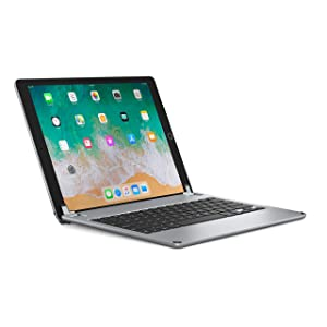 Brydge 12.9 Keyboard for iPad Pro 12.9 inch (2017/2015 Models only), Aluminum Bluetooth Keyboard with Backlit Keys. (Does not fit 2018 3rd Gen iPad Pro)