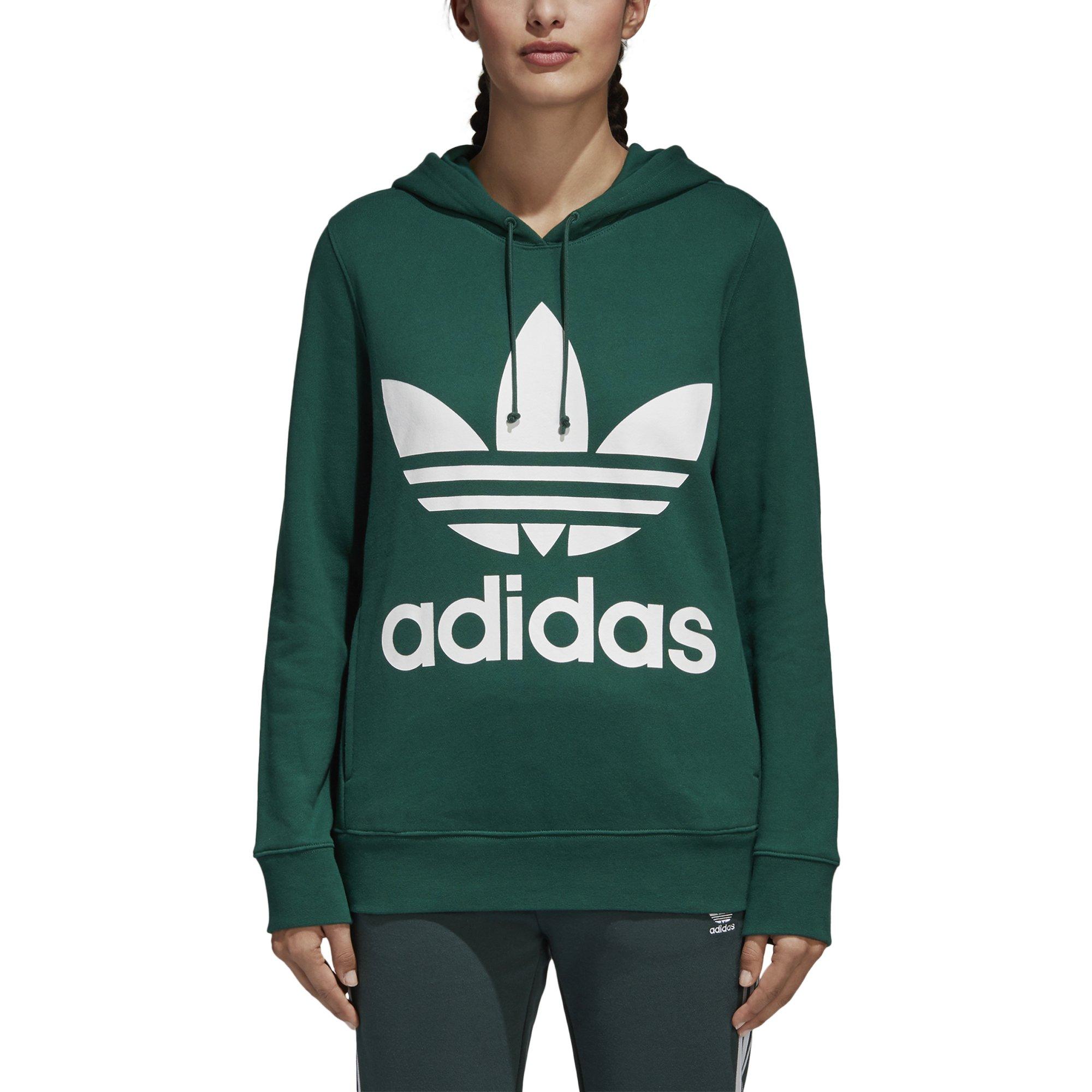 Galleon - Adidas Originals Women s Trefoil Hoodie f4743ccb70