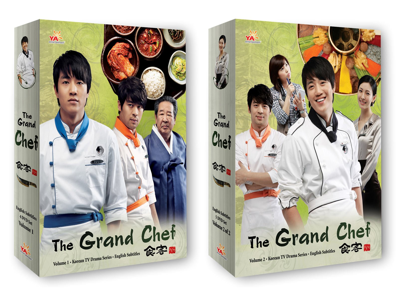 Korean TV Drama 2-pack: The Grand Chef Vol 1 + Vol 2 by YA Entertainment