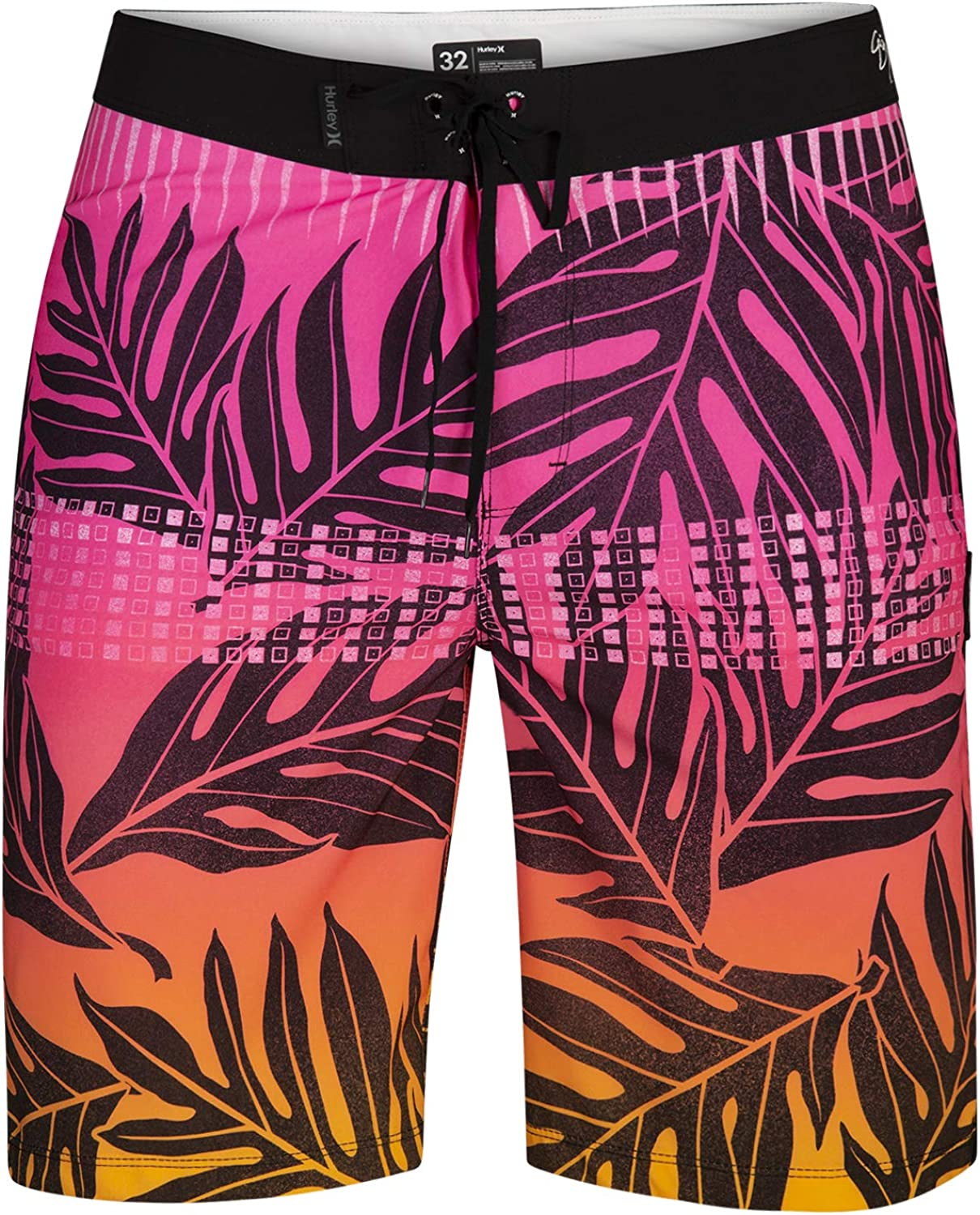 Pacific Blue M Hurley Boys Pull On Board Shorts